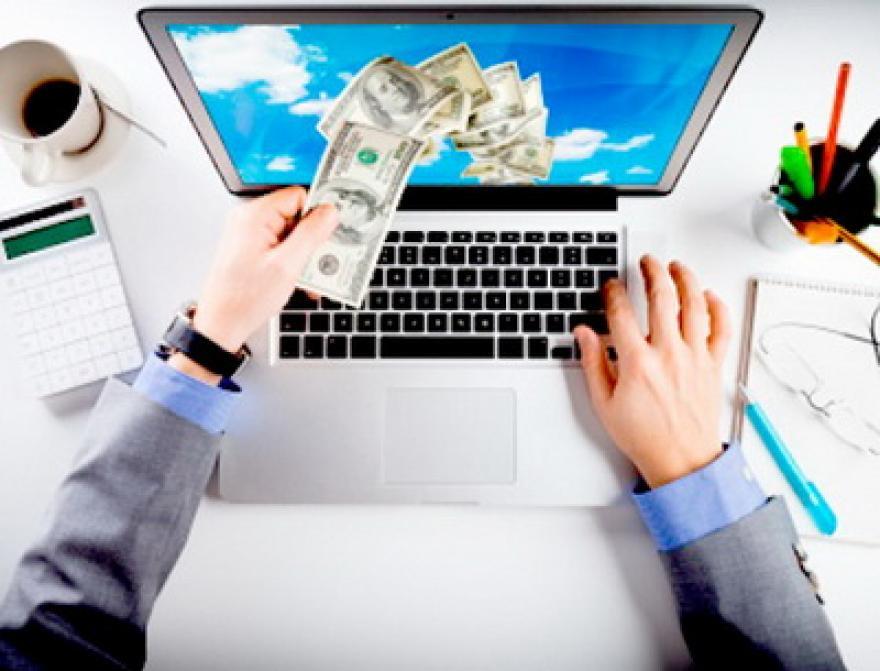 Image : Bekerja di Rumah Dengan Internet